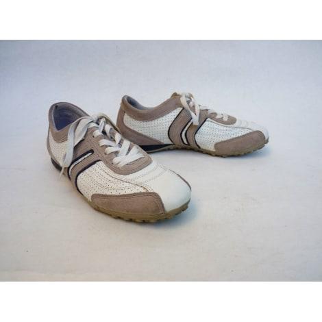 Chaussures à lacets  GEOX Blanc, blanc cassé, écru
