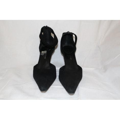 Escarpins compensés ELIZABETH STUART Noir