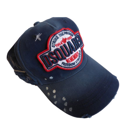 4a7cbd6ea3d6 Cap DSQUARED2 One size blue new sold by philippe 17283444 - 6982292