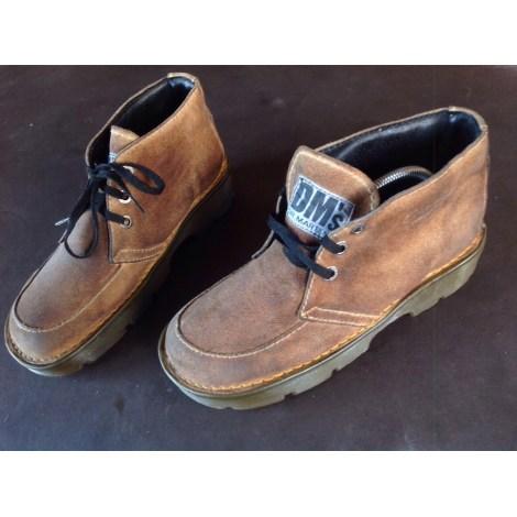 8d303ffa3df Bottines   low boots à compensés DR. MARTENS 41 marron très bon état vendu  par Ericpesos - 6997572