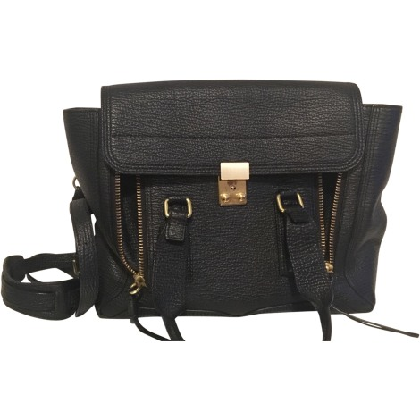 Leather Shoulder Bag 3.1 PHILLIP LIM Black