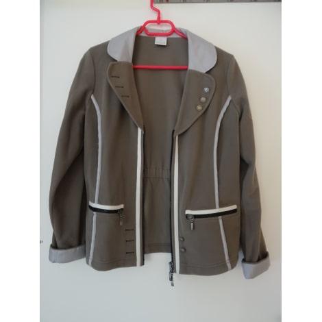 Blazer, veste tailleur MADELEINE Taupe