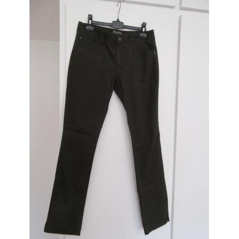 Jeans slim MASSIMO DUTTI Kaki