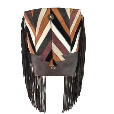 Leather Shoulder Bag JEROME DREYFUSS Multicolor