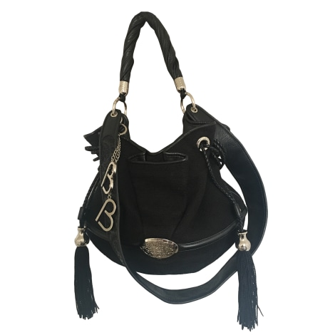 Non-Leather Handbag LANCEL Brigitte Bardot Black
