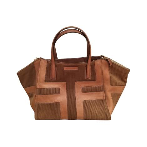 Leather Handbag GERARD DAREL beige vendu par Charlotte ...