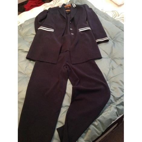 Tailleur pantalon INFINITIF Bleu, bleu marine, bleu turquoise