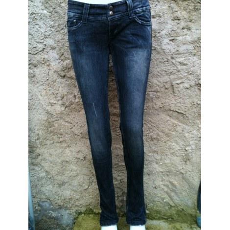 Jeans slim MISS SIXTY Bleu, bleu marine, bleu turquoise