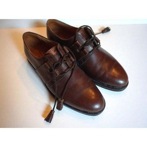 Chaussures à lacets JOHN LOBB Marron