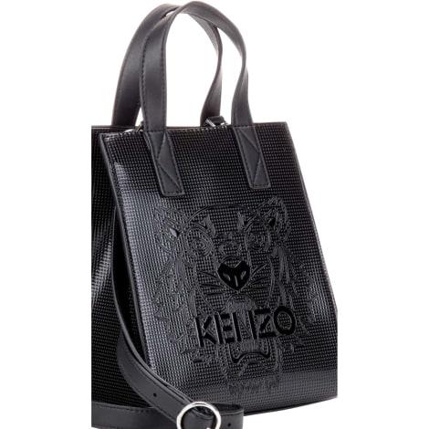 sac en bandouli re en cuir kenzo noir vendu par leonard2015 7117035. Black Bedroom Furniture Sets. Home Design Ideas