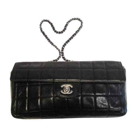 Leather Handbag CHANEL Black