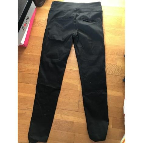 Pantalon slim, cigarette CAMAIEU Noir