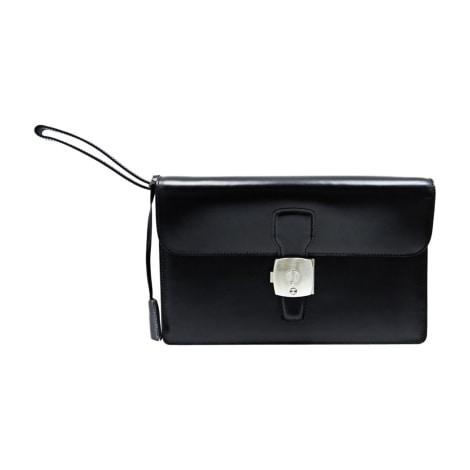 Porte document, serviette DUNHILL Noir