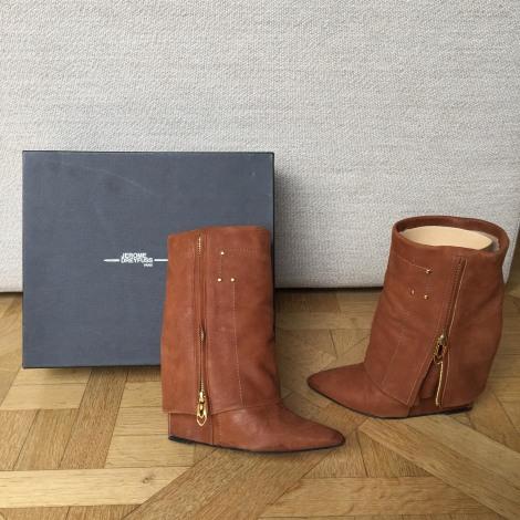 Bottines & low boots à compensés JEROME DREYFUSS Beige, camel