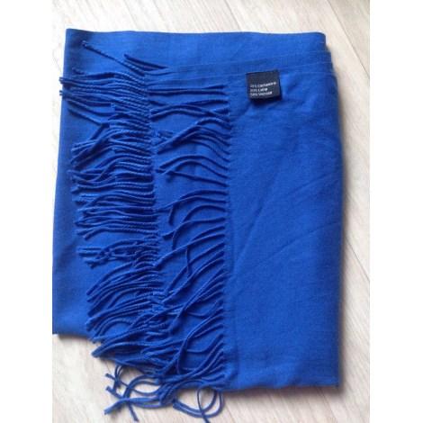 Châle MARQUE INCONNUE Bleu, bleu marine, bleu turquoise