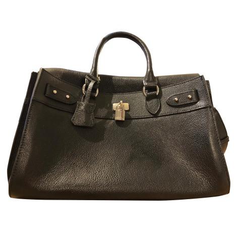 Leather Handbag MAC DOUGLAS Black