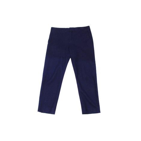 Pantalon carotte CHLOÉ Bleu, bleu marine, bleu turquoise