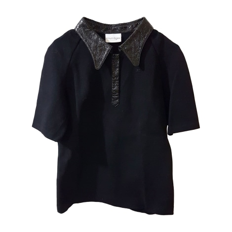 Pull tunique COURRÈGES Noir