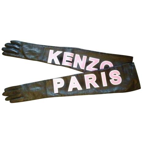 Gants KENZO X H&M Noir & rose
