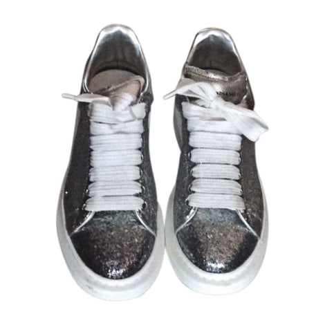 Sneakers ALEXANDER MCQUEEN Silberfarben, stahlfarben