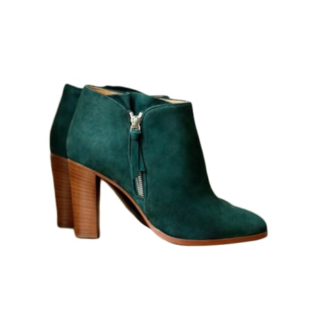 High Heel Ankle Boots SÉZANE Green
