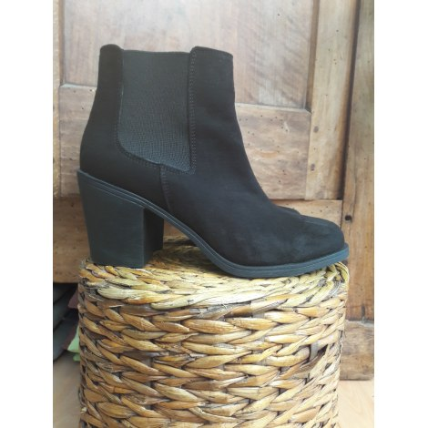 Bottines & low boots à talons H&M Noir