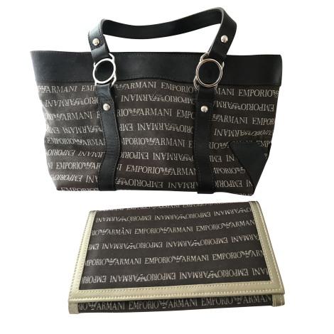 Non-Leather Handbag EMPORIO ARMANI brown - 7468763 e325719fc9