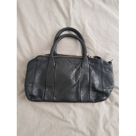 sac main en cuir zara noir vendu par adriana 99 7485163. Black Bedroom Furniture Sets. Home Design Ideas
