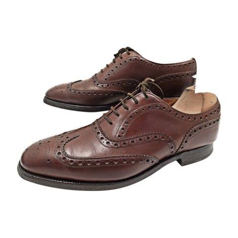 chaussures lacets church 39 s 41 5 marron vendu par encherexpert paris14 7520309. Black Bedroom Furniture Sets. Home Design Ideas