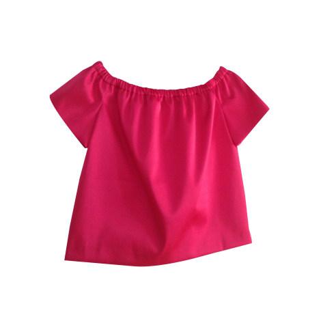 Blouse MAJE Pink, fuchsia, light pink