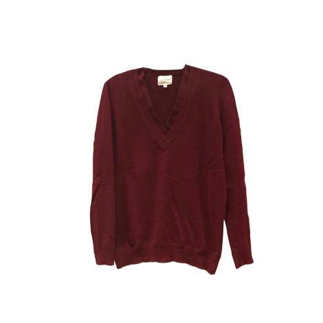 Sweater SÉZANE Red, burgundy