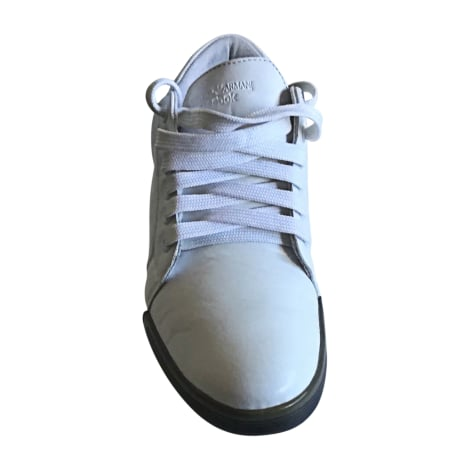 Baskets EMPORIO ARMANI Blanc, blanc cassé, écru