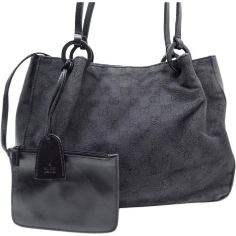 Non-Leather Handbag GUCCI black very good sold by ENCHEREXPERT ... 960c2f3553d