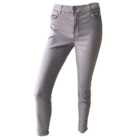 Jeans slim J BRAND Violet, mauve, lavande