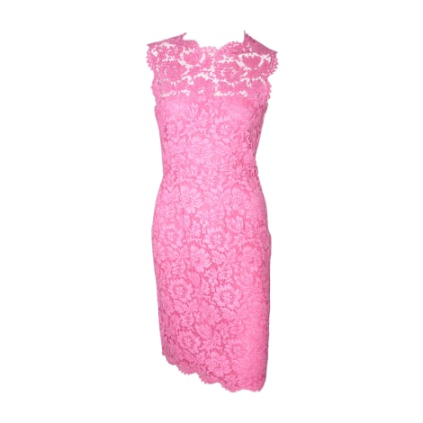 Midi Dress VALENTINO Pink, fuchsia, light pink