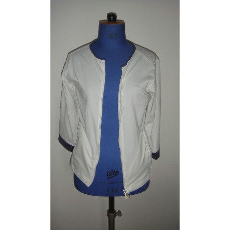 Vest, Cardigan ADIDAS White, off-white, ecru