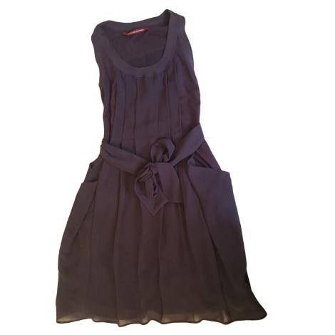 Robe mi longue comptoir des cotonniers 36 s t1 violet - Robe longue comptoir des cotonniers ...