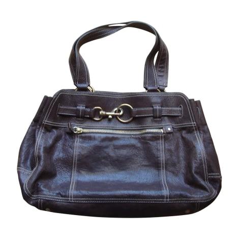 Leather Shoulder Bag MIU MIU Brown