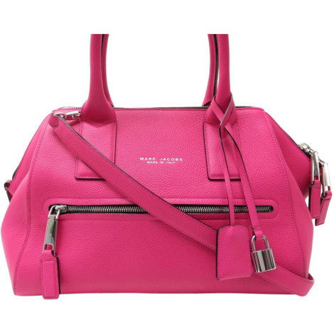 Leather Handbag MARC JACOBS Pink, fuchsia, light pink