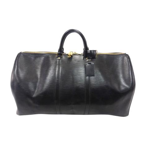 e363f54045 Sac XL en cuir LOUIS VUITTON keepall noir vendu par Bibag - 7606618