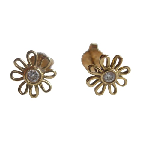 Ohrringe TIFFANY & CO. Gold, Bronze, Kupfer