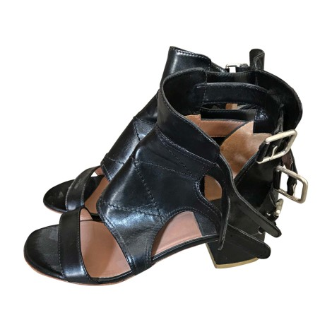Heeled Sandals LAURENCE DACADE Black