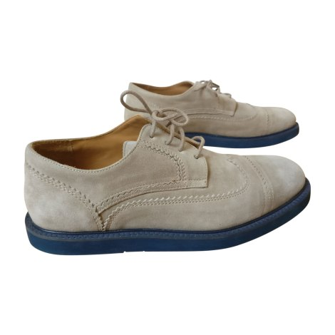 Lace Up Shoes KENZO Beige, camel