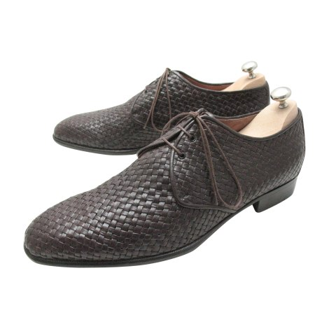 Lace Up Shoes A. TESTONI Brown