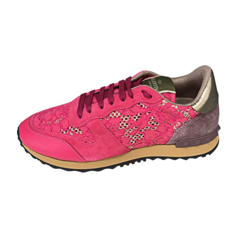 Sneakers VALENTINO Pink, fuchsia, light pink