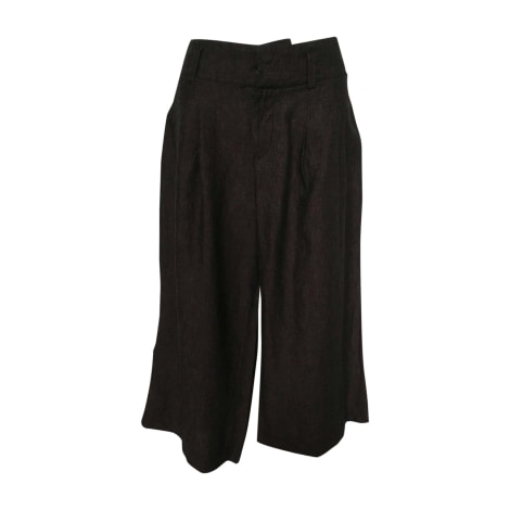 Wide Leg Pants HUGO BOSS Brown
