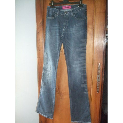 Jeans évasé, boot-cut SAVE THE QUEEN Bleu, bleu marine, bleu turquoise
