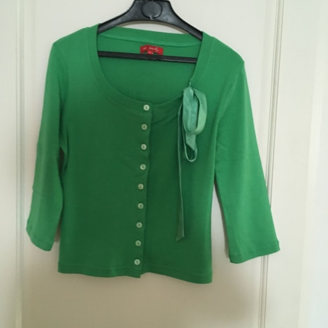 Gilet, cardigan DERHY Vert