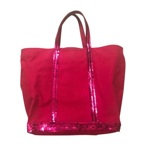 Stoffhandtasche VANESSA BRUNO Pink,  altrosa