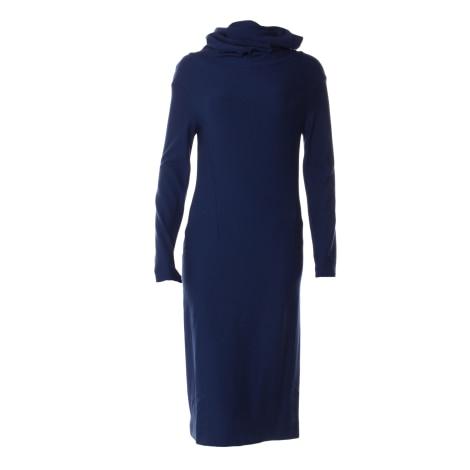 Robe mi-longue COP-COPINE Bleu, bleu marine, bleu turquoise